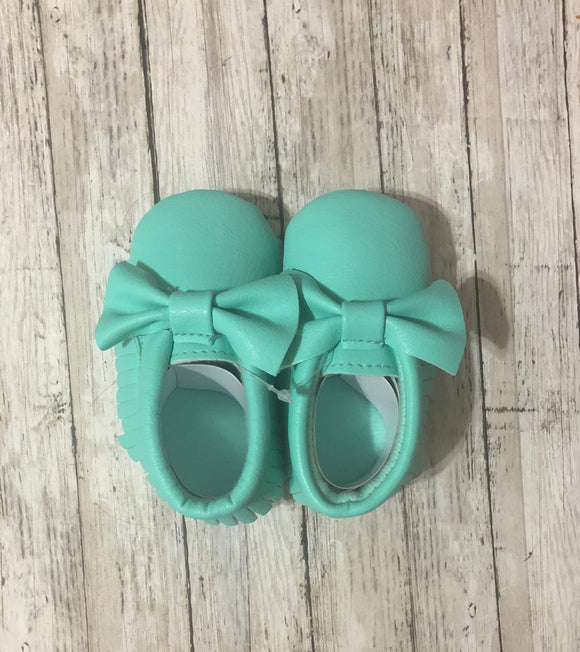 Mint soft sole moccasin