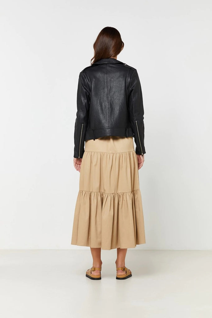ELKA COLLECTIVE - CARRIE LEATHER JACKET