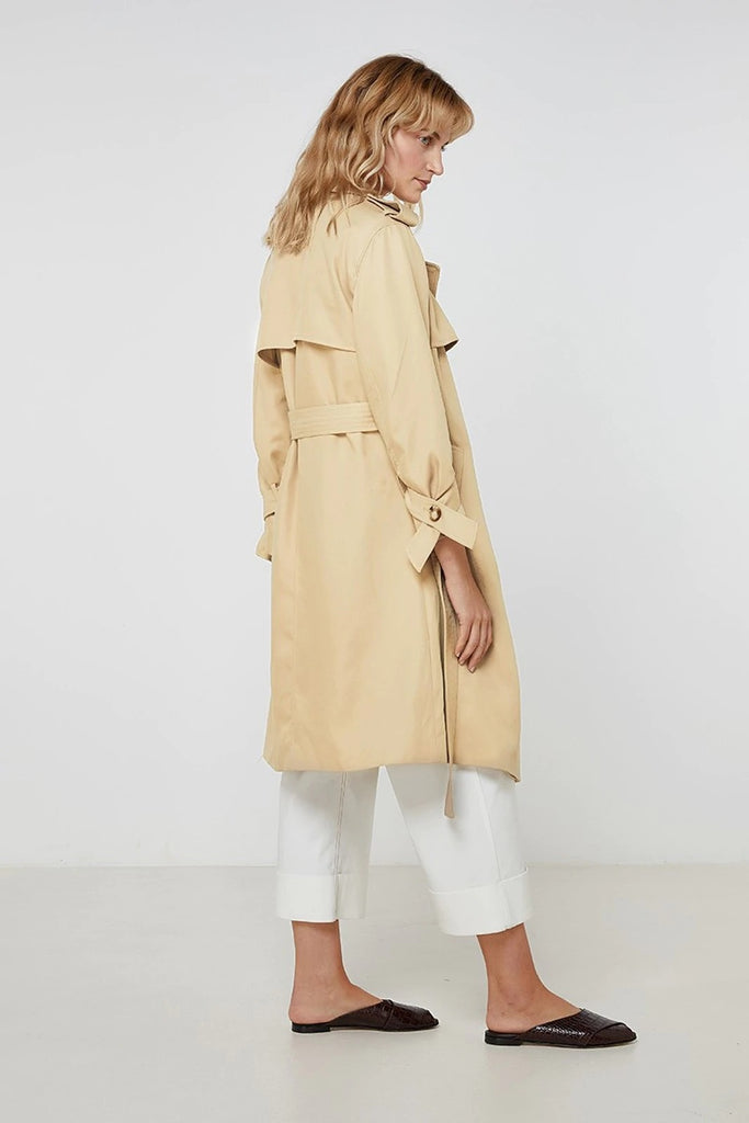 ELKA COLLECTIVE - PEARL TRENCH COAT