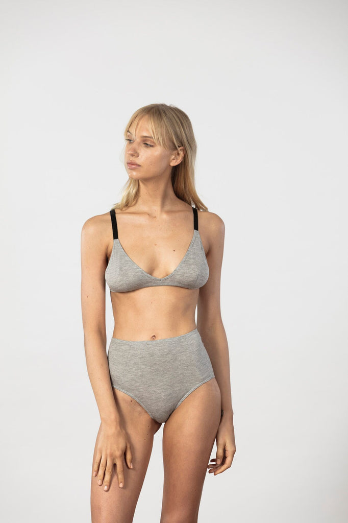 NICO - TRIANGLE BRA - GREY