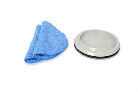 "Two New 15"" Mopping Pads and Pad Holder for Prolux Core"