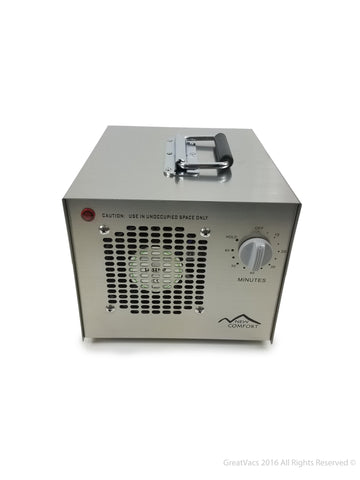 New Comfort Stainless Steel Commercial Air Purifier Ozone Generator with UV and 3 year Warranty by Prolux