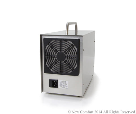 Demo Unit Dual Action Stainless Steel Ozone Generating Air & water Purifier by New Comfort