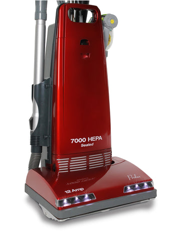 Demo Prolux 7000 Upright Sealed HEPA vacuum on board tools 7 Year Warranty