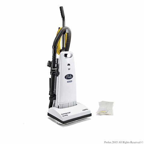 Demo Prolux 6000 Upright HEPA Vacuum 12 AMP Motor on board tools and 5 Year Warranty!