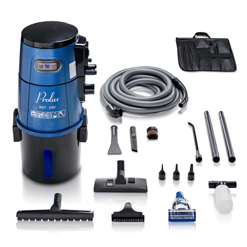 Blue Prolux Wet/Dry Garage Vacuum, Shampooer, Blower and Detailer