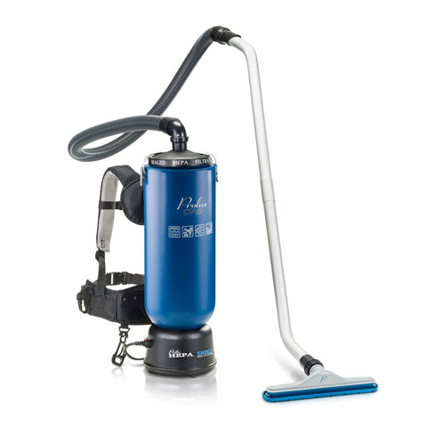 Black & Blue Prolux 10 Quart Commercial Backpack Vacuum with 5 year warranty
