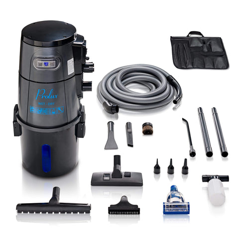 Grey Prolux Wet/Dry Garage Vacuum, Shampooer, Blower and Detailer