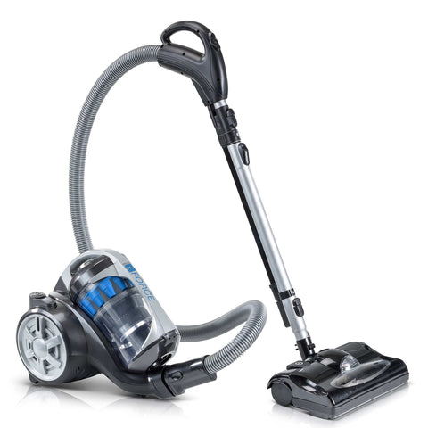 2019 Prolux iFORCE Bagless Canister Vacuum Cleaner With 2 Stage Hepa Filtration & Power Nozzle