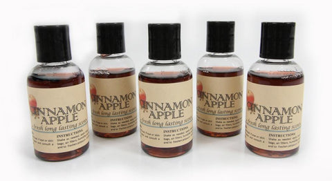 5 Pack Cinnamon Apple vacuum fragrance scents for Rainbow, Rainmate, Thermax, Hyla, & Humidifiers 2 fl oz