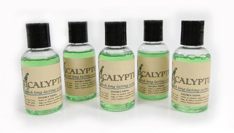5 Pack Eucalyptus vacuum fragrance scents for Rainbow, Rainmate, Thermax, Hyla, & Humidifiers 2 fl oz