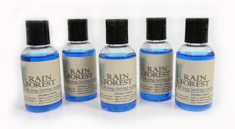 5 Pack Rain Forest vacuum fragrance scents for Rainbow, Rainmate, Thermax, Hyla, & Humidifiers 2 fl oz
