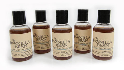 5 Pack Vanilla Bean vacuum fragrance scents for Rainbow, Rainmate, Thermax, Hyla, & Humidifiers 2 fl oz