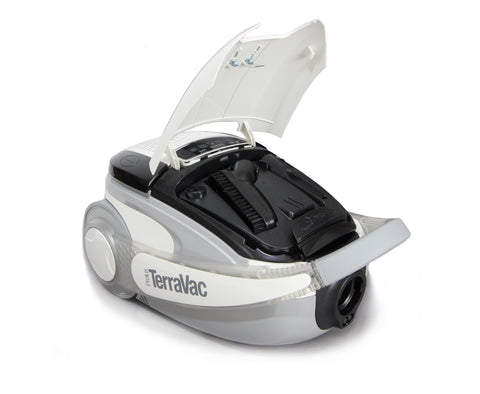 White 5 Speed Prolux TerraVac Vacuum Cleaner with Sealed HEPA Filter