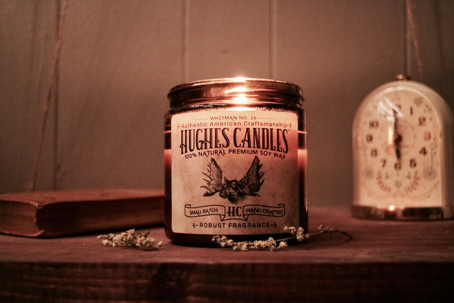 Hughes Candles Announces Unisex Wood Wick Soy Candle Grand Opening Launch