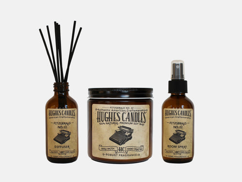 Hughes Candles Fitzgerald Gift Set