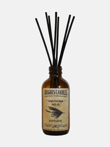 Hughes Candles Hawthorne all natural diffuser