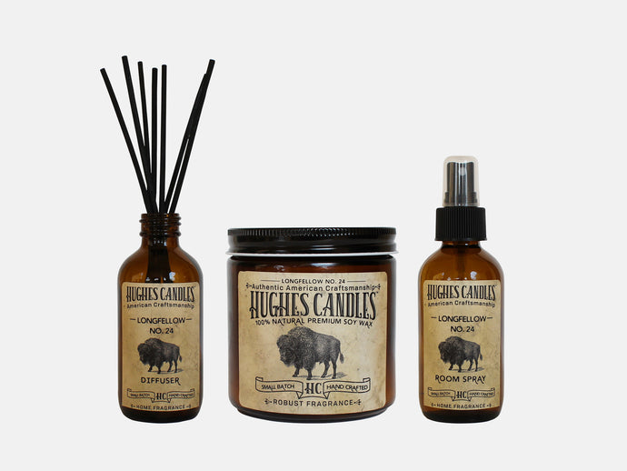 Hughes Candle Thoreau Gift Set