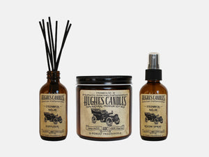 Hughes Candles Steinbeck Gift Set