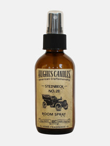 Hughes Candles No. 28 Steinbeck All Natural Room Spray