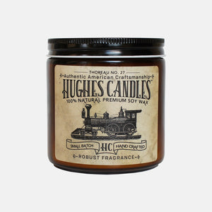 Thoreau No. 27 Woodwick Soy Candle 13.5oz.