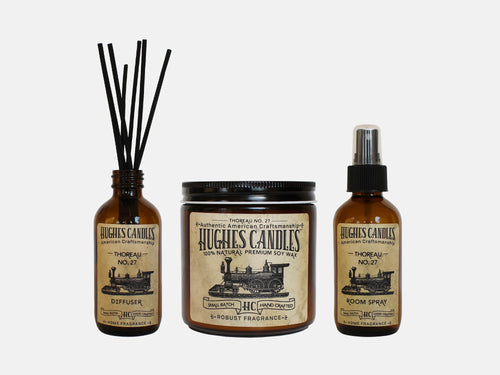 Hughes Candles Thoreau Gift Set