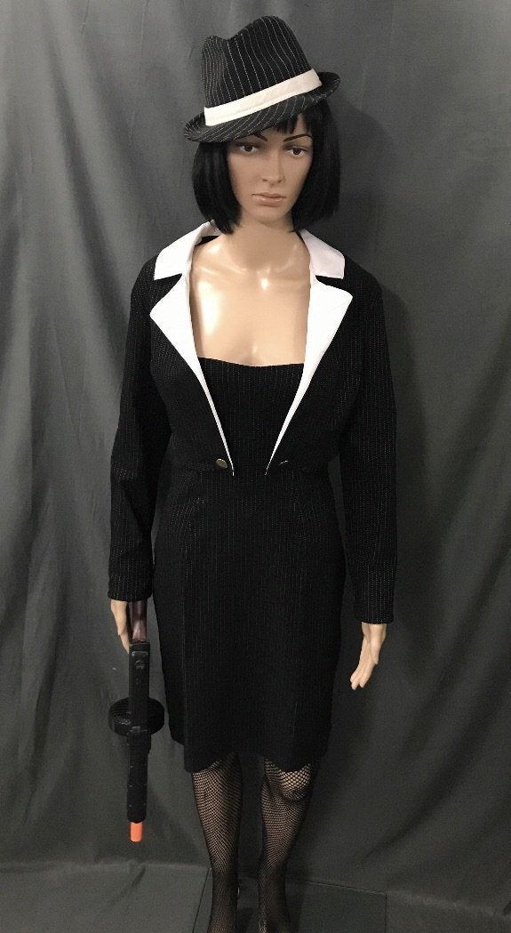 1920's Gangster Moll Dress with Bolero - Hire - The Costume Company | Fancy Dress Costumes Hire and Purchase Brisbane and Australia