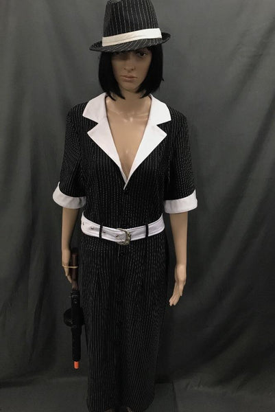 1920's Gangster Moll Long Dress - Hire - The Costume Company | Fancy Dress Costumes Hire and Purchase Brisbane and Australia