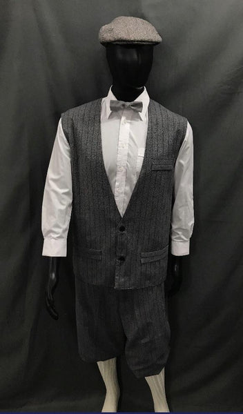 1920s Golfer Grey Pinstripe - Hire - The Costume Company | Fancy Dress Costumes Hire and Purchase Brisbane and Australia