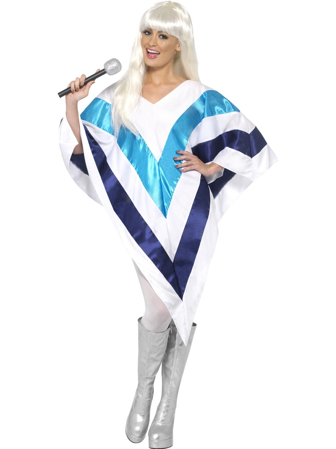 Abba Poncho 70s Costume - Buy Online Only