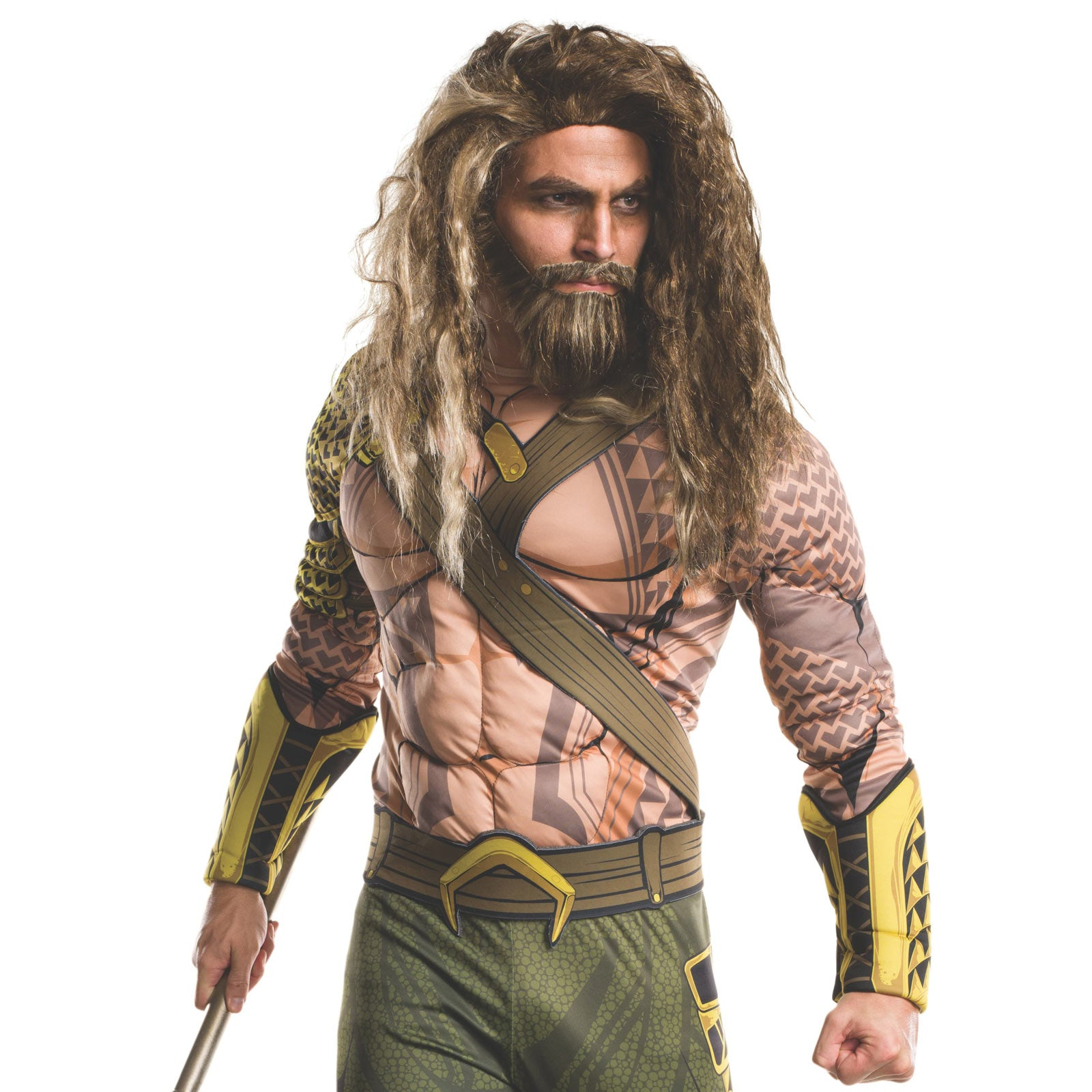 Aquaman Beard and Wig Set - Buy Online Only