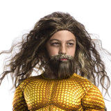 Aquaman Beard and Wig Set Child - Buy Online Only
