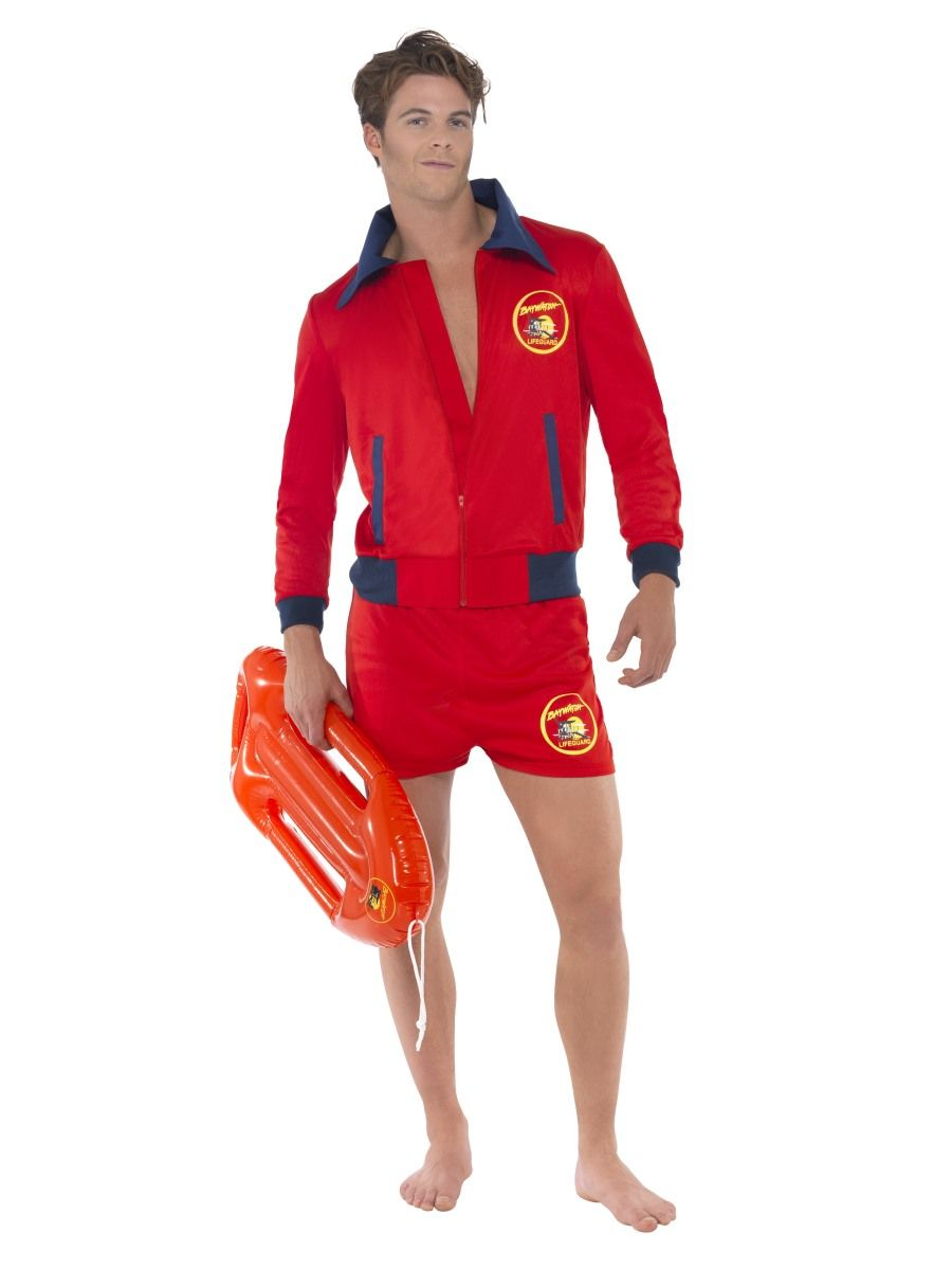 Baywatch Beach Life Guard Costume - Buy Online Only
