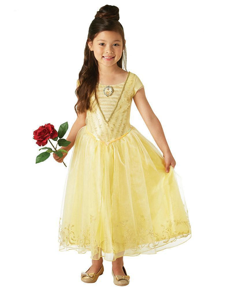 Belle Live Action Deluxe Child Costume - Buy Online Only