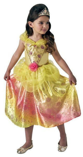Belle Rainbow Princess Child Costume - Buy Online Only