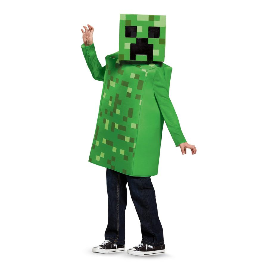 Minecraft - Creeper Classic Costume Child - Buy Online Only
