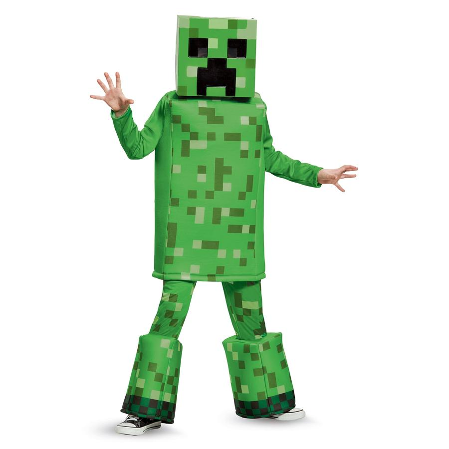 Minecraft - Creeper Prestige Costume Child - Buy Online Only