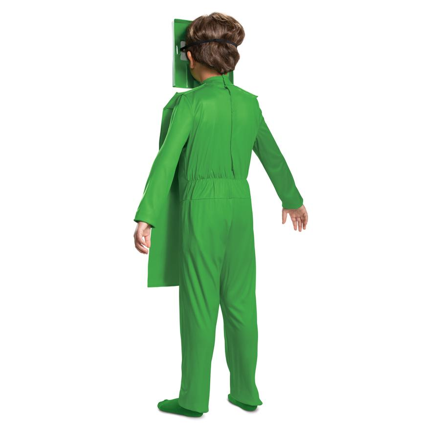 Minecraft - Creeper Classic Jumpsuit Costume Child - Buy Online Only