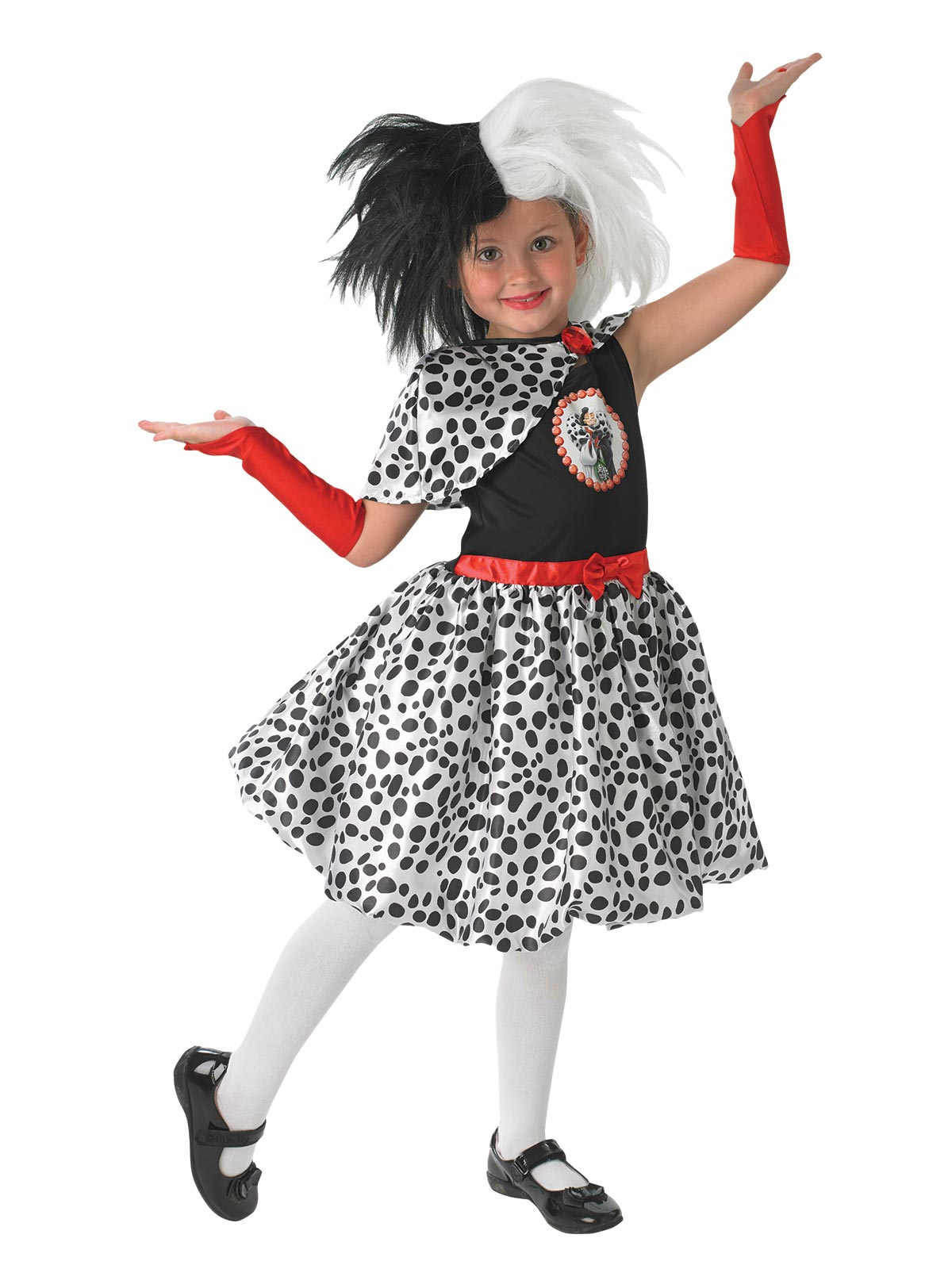Cruella De Vil Child Deluxe Costume - Buy Online Only