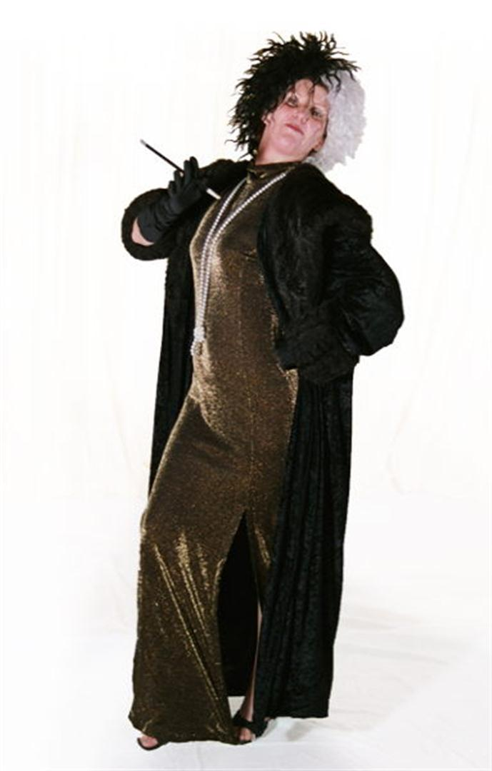 Cruella de Vil Plus Size Costume - Hire