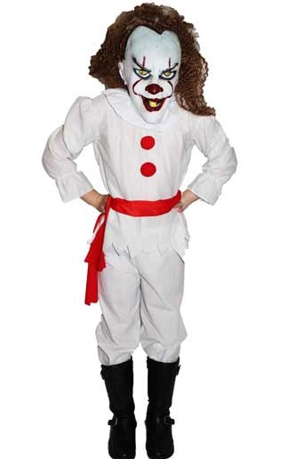 Scary Clown Costume Child - Buy