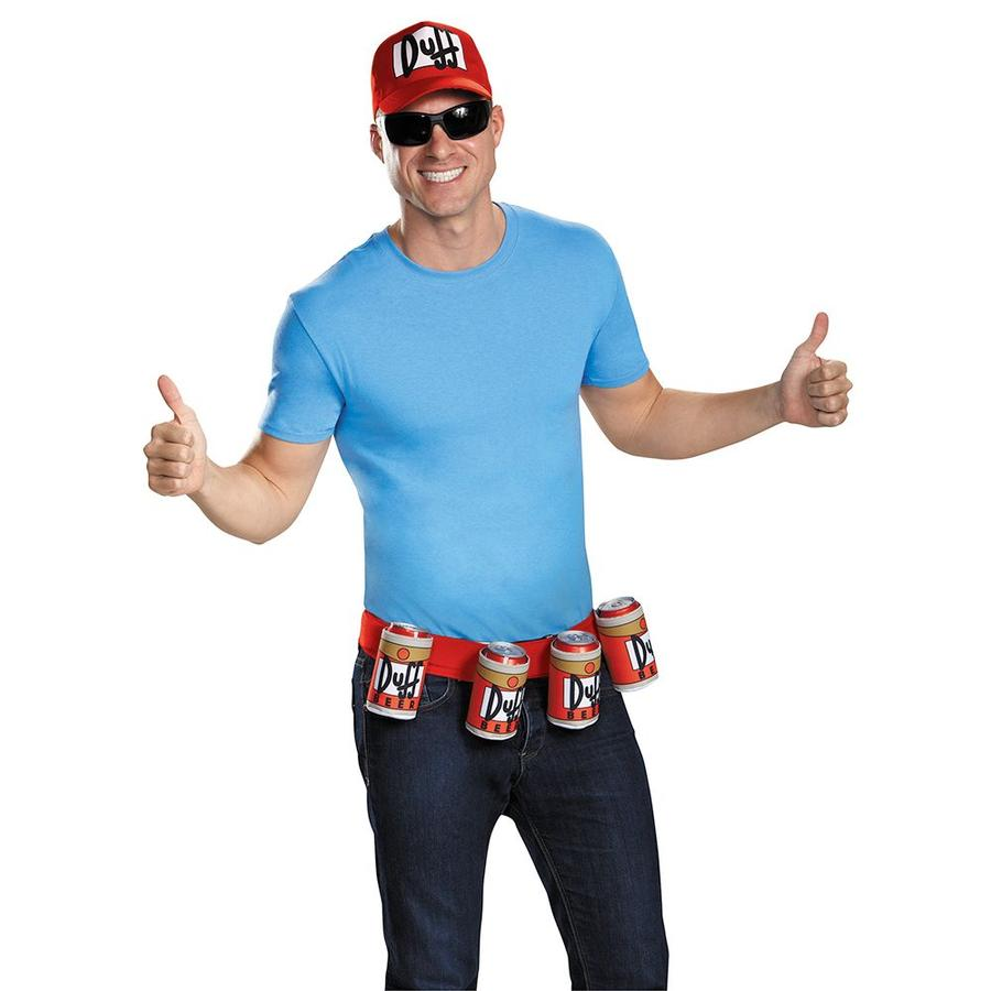 Duffman The Simpsons Costume Set