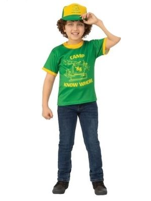 Dustin Camp Know Where Stranger Things Child T-Shirt - Buy Online Only