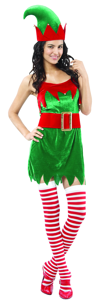 Aussie Christmas Elf Lady - Buy Online Only