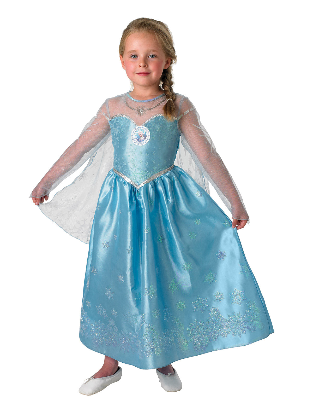 Elsa Frozen Deluxe Child Costume - Buy Online Only