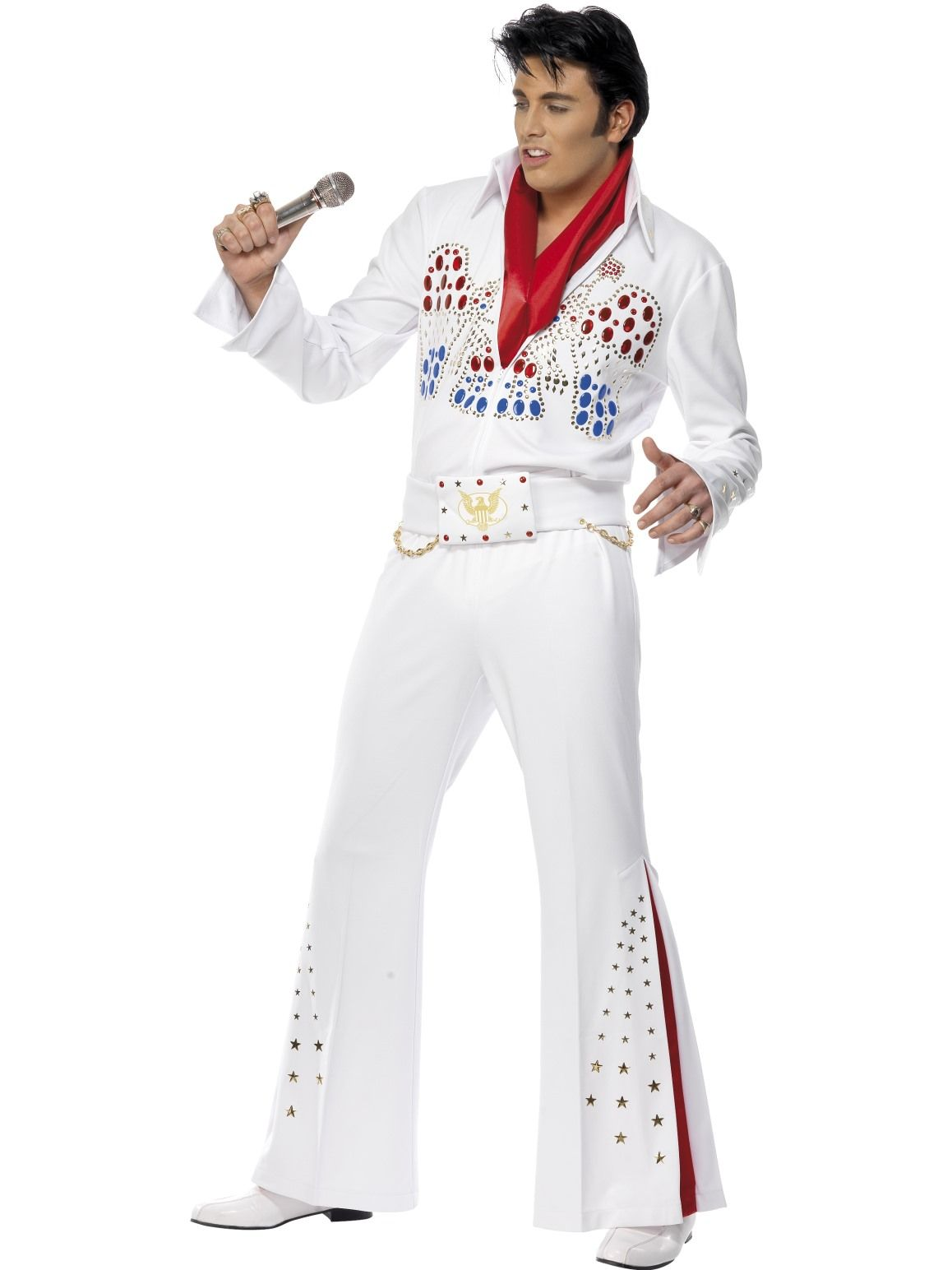 Elvis American Eagle 70s Costume - Buy