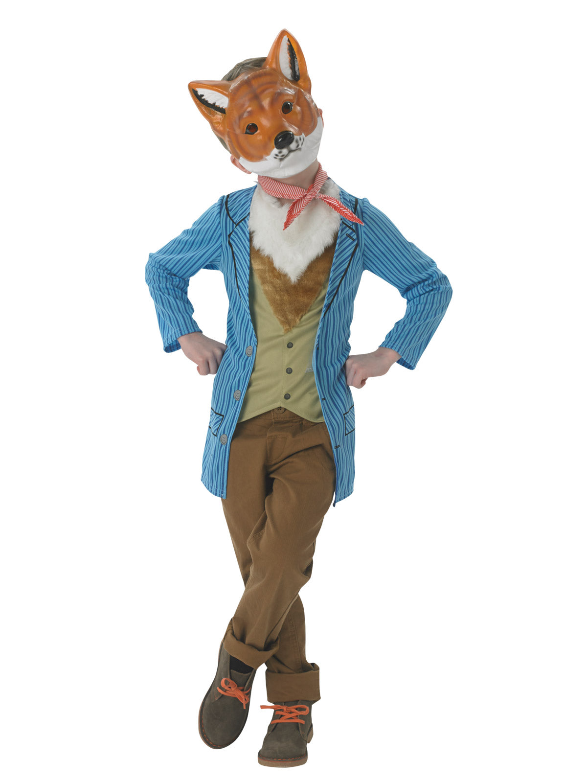 Fantastic Mr Fox Roald Dahl Deluxe Child Costume  - Buy Online Only