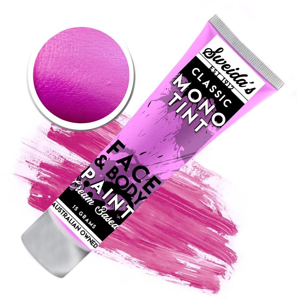 Fuschia - Monotint Liquid Face & Body Paint 15g