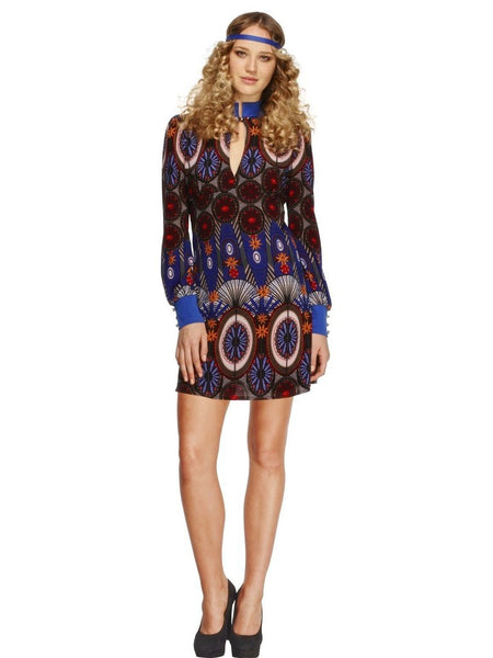 Psychedelic Dress 60s Costume - Buy