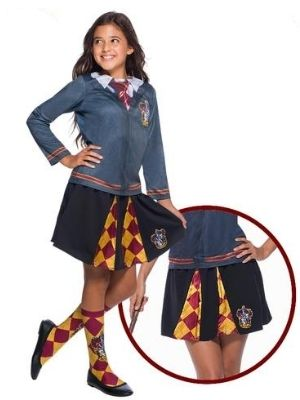 Hermione Costume Gryffindor Skirt Child - Buy Online Only